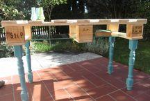 Selbst - restauriert + gebaut / Upcycling mit Holz. Altes wieder schön machen. Tutorials & DIY mit Made-in-minga.de