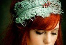 natural red hair.