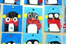 A Smorgasboard Of Penguin Ideas / If you teach about penguins or arctic animals, this board is for you!  Featuring science experiments, books, lesson plans, activities and centers for penguins!
