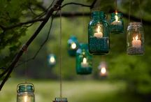 creative reuse | mason jars / Is there anything you can't do with these?