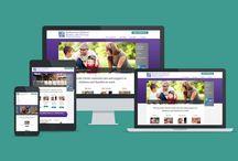 Nonprofit Website Design / Nonprofit websites design inspiration. Build your own at AllyOne.net