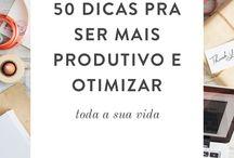 dicas produtividade