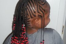 kids braided  styles
