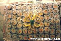 Buffet coreen / Anniversaire autour d'un buffet asiatique