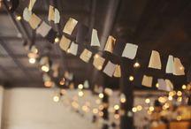 AMBIANCES_lumières_WEDDING / { inspiration mariage : ambiance lumineuse , guirlande , décoration extérieuse , light wedding et photographie lumière }