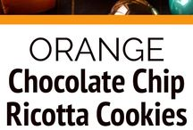 Orange chocolate cookies
