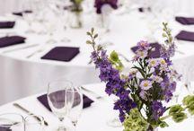 Table Decor - Purple