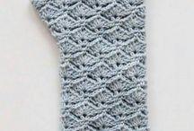 crochet mitten-gloves