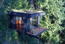 Cabins, Tiny houses