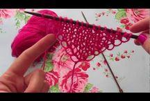 käsin neulonta, hand knitting