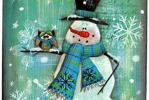 transfer - snowmen