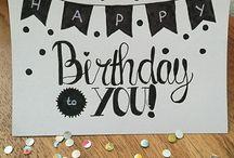 verjaardagskaartjes