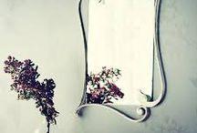 wrought iron mirrors