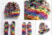 Rękawiczki i mitenki:)