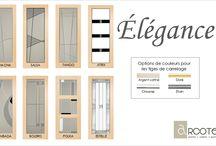 Série Élégance / La série Élégance comprend une très grande variété de modèles aussi uniques que raffinés. Ceux-ci comportent un grand nombre d'éléments personnalisables.