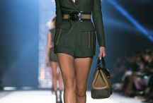 Donatella Versace presents her spring 2016 collection.