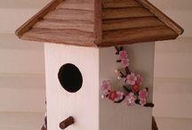 Japanese birdhouse