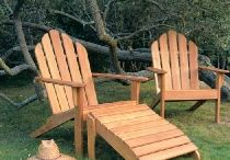 Adirondacks / The original Adirondack chair