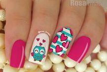 Nails hearts ♡