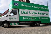Removals West Lothian / Here at Dial A Van Removals we offer long or short distance house removals, office removals, student removals and much more!