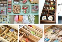 Organization // Tips & Tricks / Who knew! These tips, tricks and organization ideas will come in very handy one day!