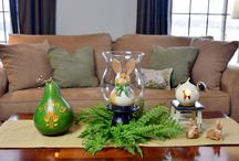 Spring Decor with Meadowbrooke Gourds / Beautiful ways to decorate for spring with Meadowbrooke Gourds