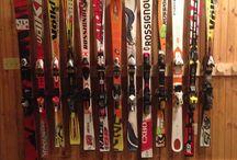 Rack à  skis