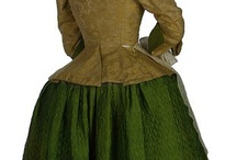Circa 1740's clothing