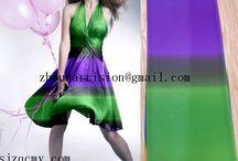 we supply many beautiful fabrics to make dress / fashion fabrics