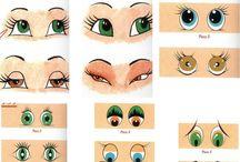 ojos de muñecas