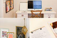 Home Office Ideas / by Kristen Ferry