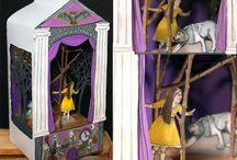 Teatro  Bonecos... Miniaturas