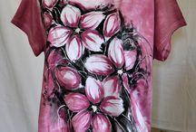 Originální móda / #artplanet #handmade #original #fashion #moda #triko #shirt #handpainted #ručnímalba #top #tunic #tunika #tričko #mikina #vesta #vest #handmade #malovanámóda #batika #batik