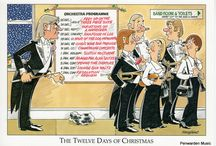 Joan Butler Classics / Here you will find the many and varied greetings cards as designed by Joan Butler. We are very privileged here at Penwarden Music to be the distributor for these hilarious cards for the classical musician.