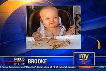 Brooke's Board / Brooke's First Messy Spaghetti Dinner