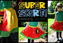 Sew Comics / Sewing inspired by DC and Marvel