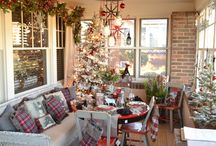 """2016 Holiday Ideas House / """"Winter's Frost & Glow"""" Creative holiday home decor and entertaining ideas from Bachman's 2016 Holiday Ideas House."""