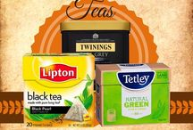 Teas with pesticides