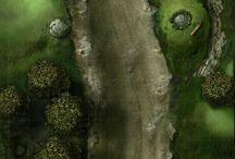 Wilderness encounter maps