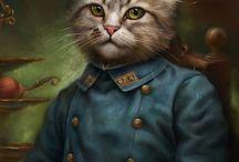 Feline potraiture
