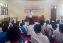 BNN Kabupaten Kediri Sosialisasi Narkoba Kepada Pelajar Di Banyakan