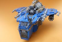Lego Neo Classic Space and other Space Ships