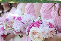 pink wedding inspiration / by Courtney Spencer