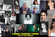 Tribute to Carrie Fischer, always our princess