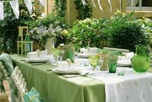 Amazing Table Cloths / #TableCloths #AmazingTableCloths #TableClothIdeas Check this board for ideas when you want to do something new with the tablecloths on your tables.