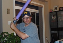 Make Your Own Star Wars Lightsaber / How to make a harmless Star Wars lightsaber that all the neighbourhood kids can enjoy. / by Chris Read