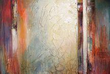 Abstract paintings, obrazy abstrakcyjne / Painting, abstract paintings, obrazy na płótnie, abstrakcje, malarstwo abstrakcyjne