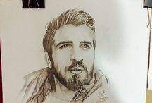 Karakalem Çizimlerim / Karakalem Çizim Portre & Tasarım  https://www.facebook.com/KarakalemCizimlerimMehmetKul