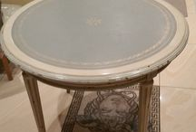 Old shabby table