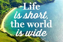 Travel: Quotes / Need inspiration to travel and see the world?